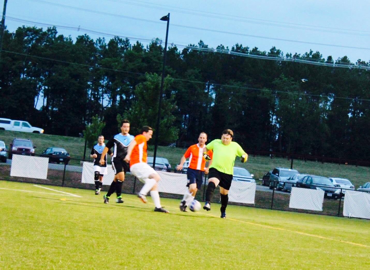 Adult Soccer in Haymarket