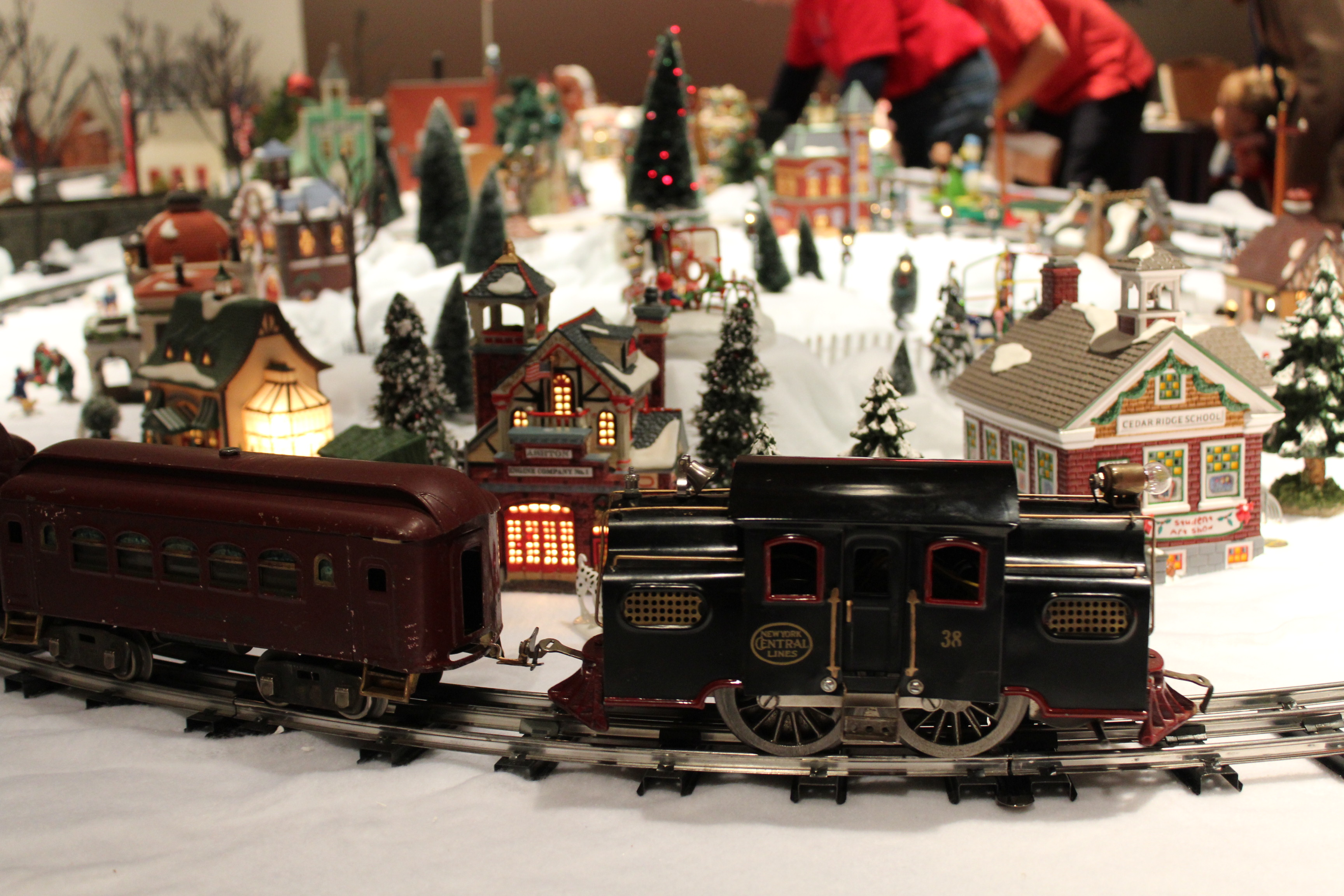 Winter Wonderland Train Show