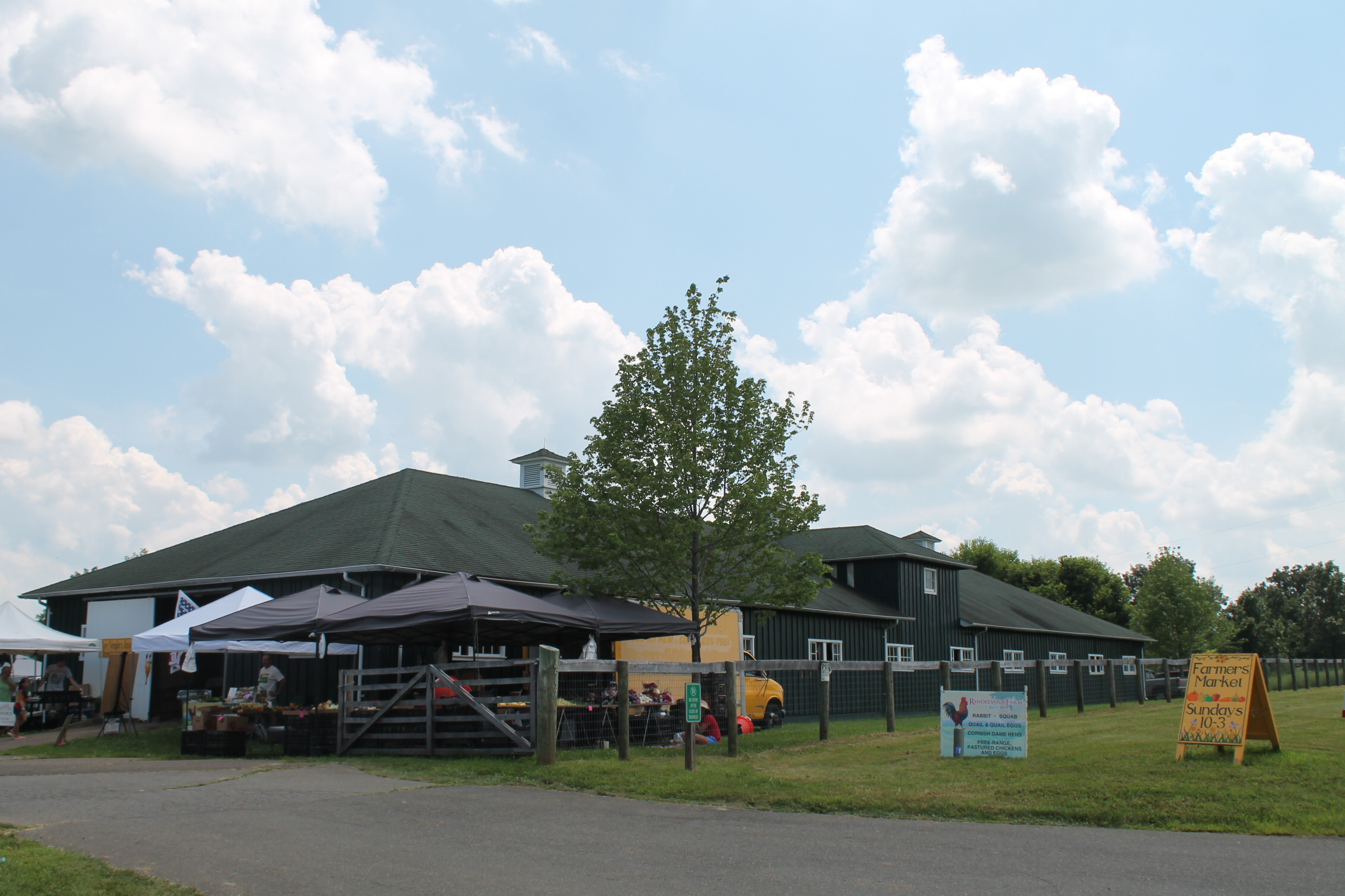 Archwood Green Barns Farmers' Market