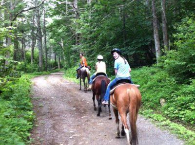 Horseback Riding in Shenandoah