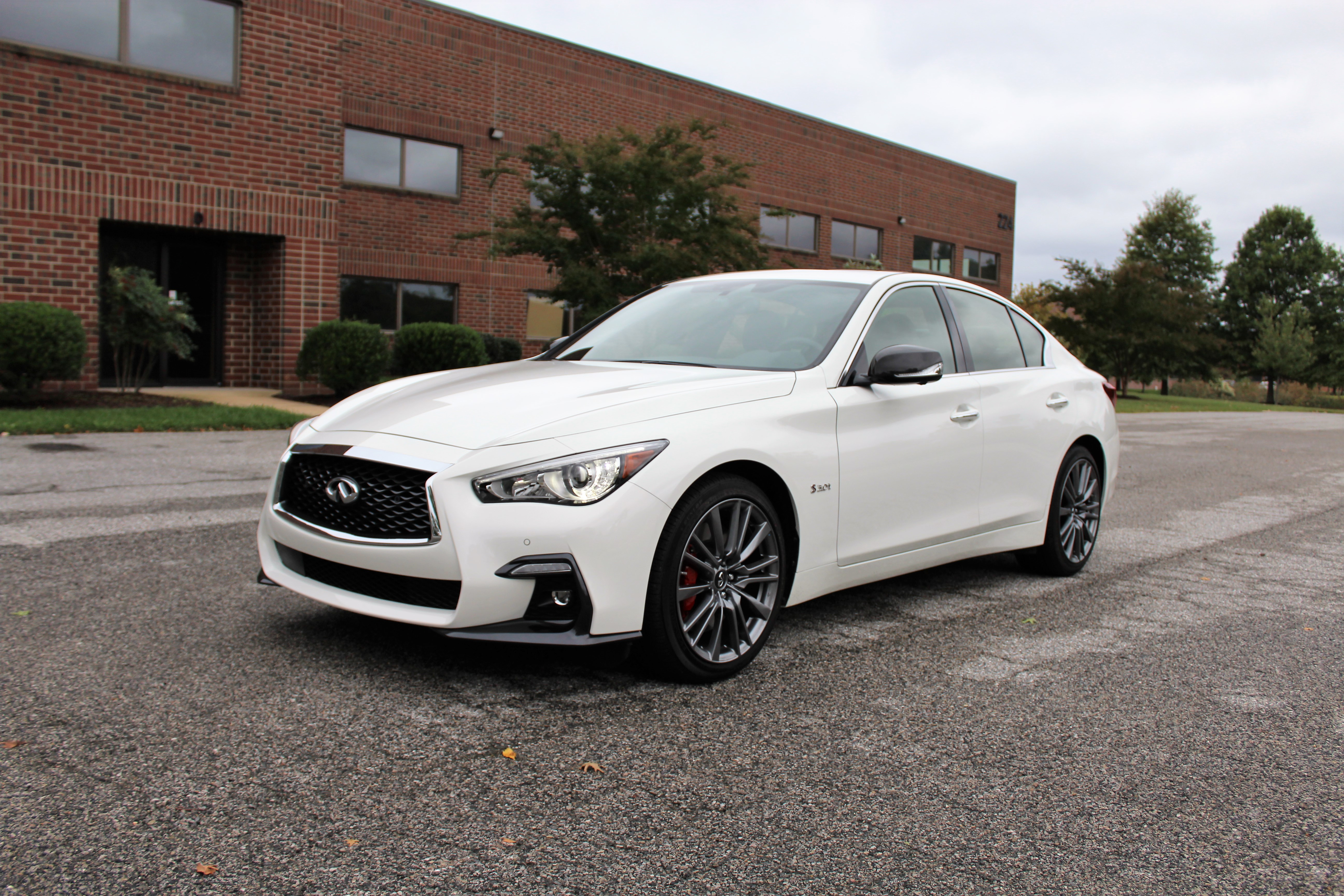 2018 Infiniti Q50 Red Sport 400 - Front