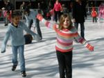 Synthetic Ice Rink in Community Park